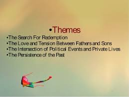the kite runner presentation serenad 18 ○ themes the