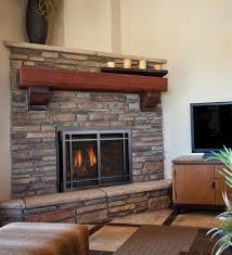 interior gas fireplace installation for home interior wall
