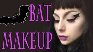 bat makeup tutorial