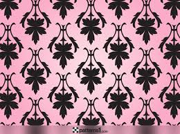 Silhouette Patterns Delectable Damask Silhouette Patterns Vector Pattern Design By Patterns48