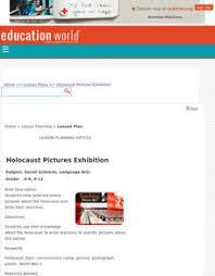 Holocaust Lesson Plans Worksheets Lesson Planet