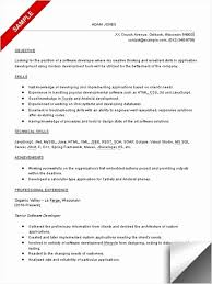 Entry Level Software Engineer Resume Elegant 27 New Stock Entry