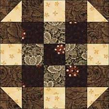 Make Easy Round the Corner Quilt Blocks that Finish at 10 Inches ... & Round the Corner Quilt Block Pattern - Janet Wickell--Finished block size:  10 Adamdwight.com
