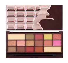 makeup revolution paleta cieni rose gold chocolate