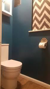 dark teal cloakroom toilet the paint is dulux teal tension