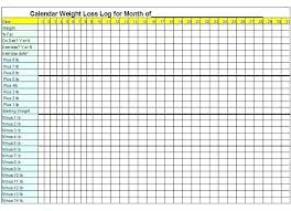 Weight Loss Challenge Spreadsheet Weight Loss Template Track Your Success Daily Food Journal