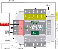 Royal Arena Denmark Seating Chart Telia Parken Stadium F C Copenhagen Football Tripper