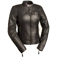 las leather girl power jacket