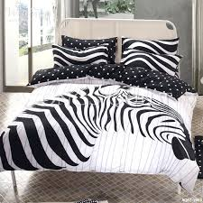 zebra print quilt covers 2017 spring and summer warm cotton bedding sets black white zebra duvet