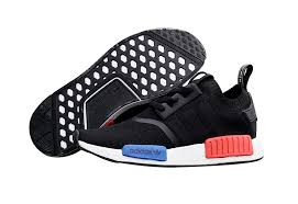 adidas shoes high tops blue and black. adidas originals nmd high top sneaker black/white/blue/red shoes tops blue and black