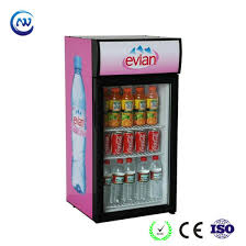 countertop glass door mini refrigerator for drinks and beverage jga sc80