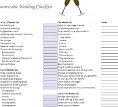 what you need for a wedding checklist customizable wedding checklist template haven