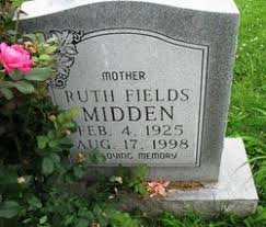 Ruth Fields Midden (1925-1998) - Find A Grave Memorial