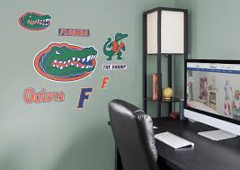 florida gators logo assortment large officially licensed removable wall decals wall decal