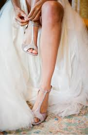 outdoor wedding shoes. elegant virginia outdoor wedding shoes getting ready bride Once Wed