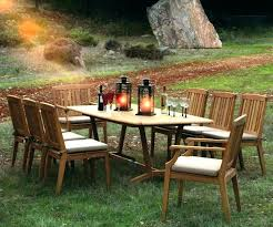 houzz outdoor furniture. Kingsley Bate Teak Outdoor Furniture Cl 9 Piece Dining Wood Patio Houzz I
