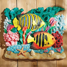 Barrier Reef Coat Rack Design Toscano The Great Barrier Reef Fish Wall Décor Royal 100