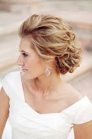 wedding wavy updo hairstyles 2017