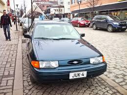 Ex-girlfriend ford escort wagon