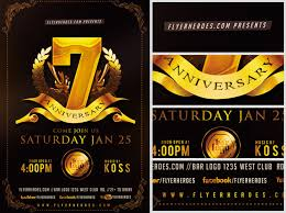 Business Anniversary Flyer Template Flyerheroes
