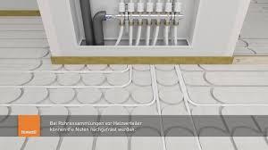 Damit die fußbodenheizung optimal funktioniert, kommt es auf den richtigen aufbau des fußbodens an. Fermacell Therm25 Fussbodenheizelement Montagevideo Youtube