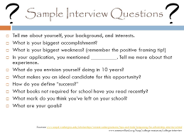 Scholarship Interview Questions How To Scholarships Tips On Scholarship Searching Essays