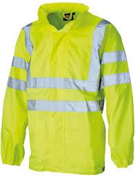 ies hi visibility lightweight waterproof jacket