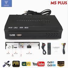 Satellite <b>TV</b> Receiver <b>Decoder Tuner</b> AV2018 Fully HD DVB S2 ...