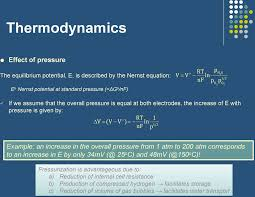 example an increase in the overall pressure from 1 atm to 200 atm corresponds to