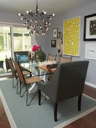 ... Hdsw1209 Grey Eclectic Dining Room 3x4 Rend Hgtvcom Jpeg Home Decor  Gray Chairs Chair Slipcoversgrey Slipcovers ...
