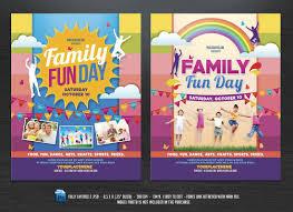 Fun Brochure Templates Family Fun Day Flyers Templates Psd Pdf Flyer Templates