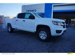 2015 Summit White Chevrolet Colorado WT Crew Cab #101443398 ...