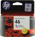 <b>Картридж HP CZ638AE</b> (<b>№46</b>) Color для Deskjet Ink Advantage ...