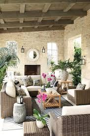 Furniture: Tropical Wicker Living Room - Wicker Furniture