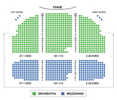 44 Complete Blackpool Opera House Seating Plan