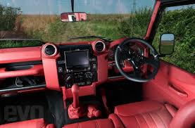 land rover defender interior upgrade. or you could have one of these but that wouldnu0027t allow such hilarity so many accusations barrying land rover defender interior upgrade r