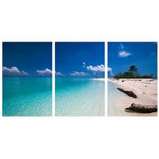 modular wall paintings summer sand beach seascape poster and prints on canvas oil painting picture art
