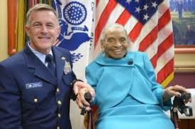 Image result for Olivia Hooker, coast guard