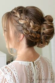 Braided Updo Hairstyles 3 Inspiration Double French Braid Mohawk Bun MISSY SUE
