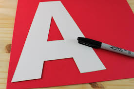 Letter A Template Letter A Craft A Is For Apple The Best Ideas For Kids