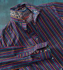 Robert Graham Size Chart Robert Graham Calvert Fancy Stripe Long Sleeve Sport Shirt