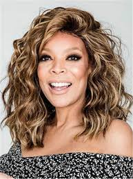 Wendy Williams Size Chart Wendy Williams Medium Messy Loose Curly Human Hair Lace