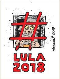 Resultado de imagem para charge lula preso