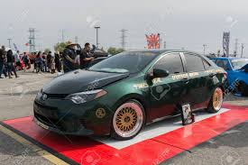 Irwindale, USA - March 4, 2017: Toyota Corolla Modified On Display ...