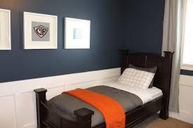 wonderful blue curtains for boy room elegant boy bedroom decoration with dark brown wooden bed
