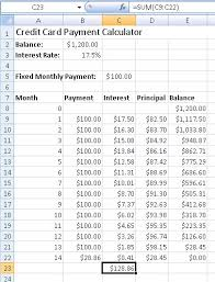 Calculator Credit Card Payment How To Create A Credit Card Payment Calculator