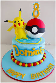 Amazing Pokemon Theme Kids Birthday Cake Design Tortaspasteles In
