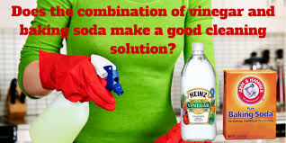 Does the Combination of Vinegar and Baking Soda Make a Good Cleaning  Solution?