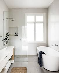 bathroom inspiration white tub walk in shower