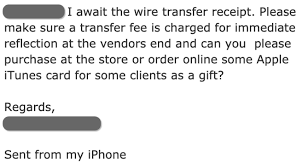 gift card scams as an emerging bec method